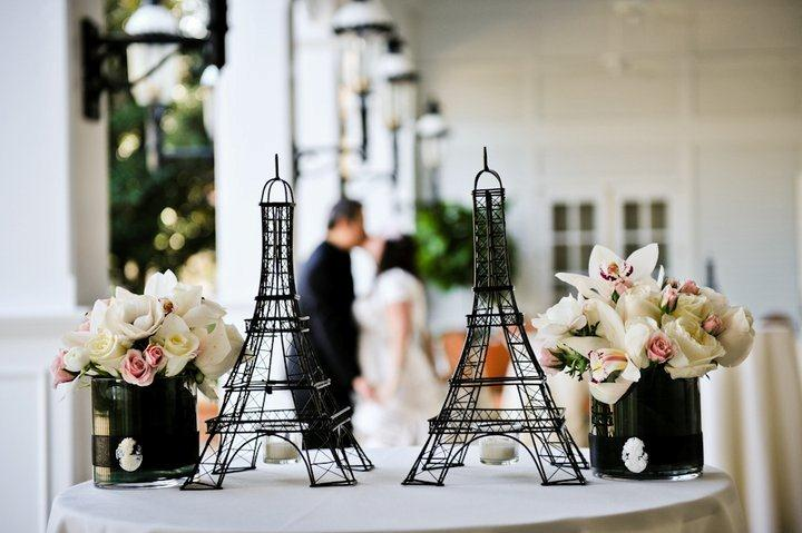 Wedding Centerpieces Paris Theme Night In Party For